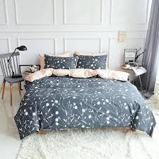 dark gray duvet cover 3 s twin queen king size plants duvet cover set solid color dark gray duvet cover