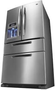 Image Inch Wide Homedit Maytag French Door Refrigerator