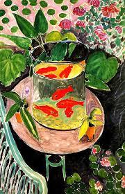 henri matisse goldfish