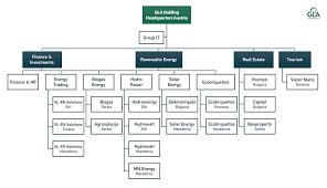Standard Corporate Organizational Chart Gla Holding