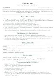 College Resume Format – Districte15.info