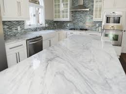 C A R Countertops With White Cabinets  AWESOME HOUSE DESIGNS  White Kitchen Cabinets With Marble Countertops U45