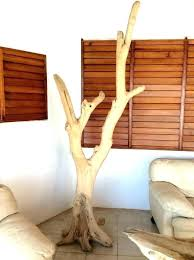 wooden coat tree standing coat rack standing coat rack items similar to tree rustic stand coat