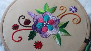 Allstitch Embroidery Designs Hand Embroidery Designs Basic Design Tutorial Stitch And Flower 135