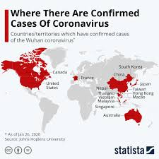 Chart: Where There Are Confirmed Cases Of Coronavirus