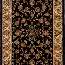 kurdamir rockland black 33 in x your choice length stair runner