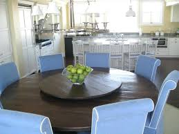 dining table with lazy susan built in round table with lazy kitchen contemporary with