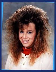 80s prom hair