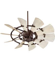 quorum 94410 86 windmill 44 inch oiled bronze with weathered oak blades indoor ceiling fan