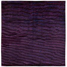 tibetan silk area rug fishskin design by joseph carini 8x8 for