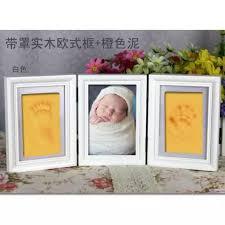 Tri Fold Hand Foot Printer Maker Baby Hand And Foot Prints Hand Footprints Album