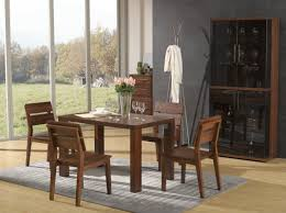 Nordic Design Small Space Furniture By Wooden Dining Room - Dining room table for small space