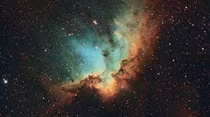 Wallpaper NGC 7380, Wizard Nebula ...