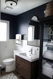 bathroom refresh: ikea vanity and linen cabinet in chris loves julias bathroom