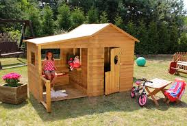 Baumotte Spielhaus Holz Kinderspielhaus Heidi Spielhaus Holz