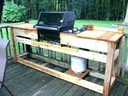 grill table plans custom google search diy tabletop stand kettle work for