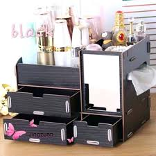 wooden makeup organizer photo photo wooden makeup organizer wooden makeup organizer desktop storage