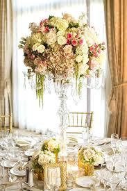 lovely candelabra centerpieces for wedding centerpiece with gold accents and flowers tall