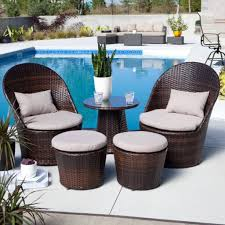 wicker patio furniture cushions. 2 Piece Small Cushions For Dark Brown Outdoor Wicker Furniture Patio