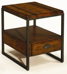 rectangular end table with drawer by hammary  wolf and gardiner