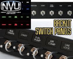 nvu custom backlit toggle switch panels rockers and switches nvu custom backlit toggle switch panels rockers and switches