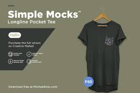 Mock Up Tshirt Free Longline T Shirt Mockup 2018 Pixelify Best Free Fonts