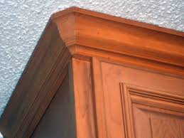 you crown molding on kitchen cabinets elegant how to cut crown molding round corners coping