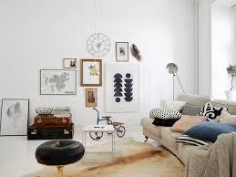 Scandinavian Design Living Room Interior Classy White Scandinavian Living Room Decor With