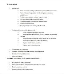 Free 17 30 60 90 Day Action Plan Templates In Pdf Word