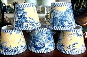 blue white toile lamp shades and striped light shade lighting fascinating target red chandelier black lam