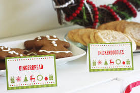 cookies cocoa christmas printables catch my party the cookies and cocoa printables here