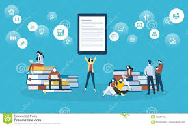 Learning Web Design Free Ebook Flat Design Style Web Banner For Online Learning Education