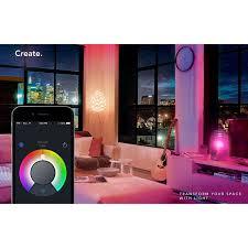 Lifx Led Smart Light Lifx Smart Led Light Bulb A19 Wi Fi Adjustable Multicolor Dimmable