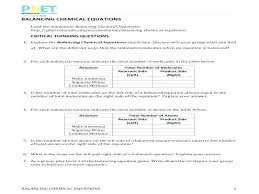 balancing chemical equations worksheet 1 answers with lovely works how to balance chemistry step by wi