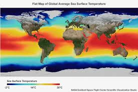 Image result for Ocean temperatures continue to rise in the tropical Pacific