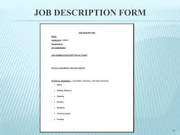 Work Description Form Work Description Form Magdalene Project Org