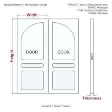 Standard Bedroom Door Width Standard Interior Door Heights Door Measurements  Interior Door Interior Door Height Standard