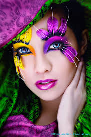 fun flower makeup diy