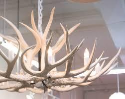 lighting elegant faux deer antler chandelier 17 kit horn c3 a2 e2 82 ac 80 9d