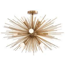 fabulous semi flush mount chandelier zanadoo 12 light reviews allmodern