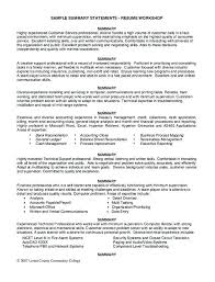 Resume Examples For Jobs With Little Experience Resumes Examples For