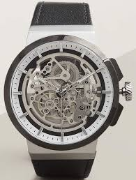 men s kenneth cole automatic skeleton watch 10022314