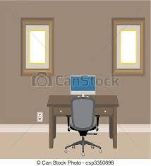 home office artwork. Home Office - Csp3350898 Artwork