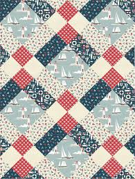 400 best Quilt Patterns images on Pinterest | Bags, Ideas and ... & Mckenzie Clan pattern from Pattern Jam using Ahoy fabric - I love Pattern  Jam! Adamdwight.com