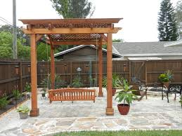 Simple Pergola simplepergoladesignsswing cozy but simple pergola designs 1131 by xevi.us