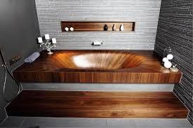 image of wooden bathtub plans