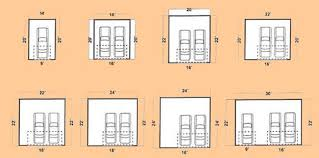 2 Car Garage Dimensions  Google Search  Interior Design General Size Of A Two Car Garage