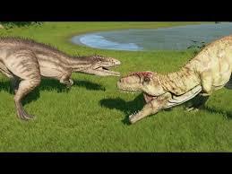 Image result for giganotosaurus vs carcharodontosaurus