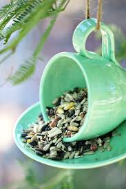 garden treasures bird food teacup inspired project ideas teacup bird feeders bird feeder and teacup garden