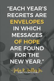Quotes To Bring In The New Year